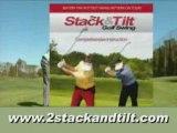 2 Stack and Tilt Golf Swing Video