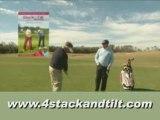 4 Stack and Tilt Golf Swing Video