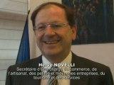 Le statut de l'auto-entrepreneur, par Hervé Novelli