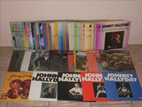 "Johnny hallyday collection "" impact"""