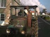 tracteur demarrage d'un societe