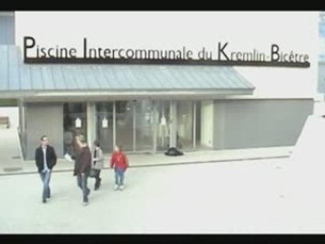 Inauguration de la piscine du Kremlin-Bicêtre