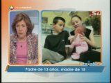 Padre de 13 años y la madre de 15 años