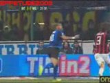 Inter-Milan, il gol di Adriano