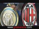 Gol de Adriano .. Inter Milan vs AC Milan 2-1 .. (15-02-2009