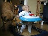 """gros """"calins"""" à mon gros doudou (7 mois)"""