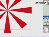 Create sunbursts using symbols in illustrator - Tutorial