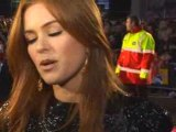 Isla Fisher at the Confessions of a Shopaholic UK premiere