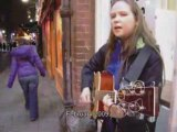Lithuanian Irish singer in Dublin ,Ireland