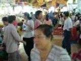 Le marché Ben Thanh à Saïgon