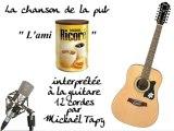 L'ami Ricoré (publicité à la guitare 12 cordes)