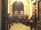 Au delà du geste et du symbole. Occupation de la Sorbonne jeudi soir dernier.