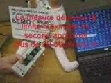 Ordinateur portable micro-ondes danger semo