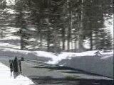 Snowboarding street