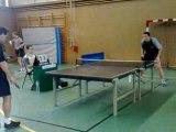 Tournoi de tennis de table à rennes au cercle paul bert