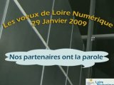 Voeux 2009 les partenaires de Loire Numérique