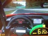 2 tours en ferrari F550 sur le circuit de spa GTR2