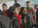El FC Barcelona rumbo a Lyon [Feb 23, 2009]