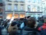 Manif du 19 février 2009: Les étudiants face aux CRS (1)