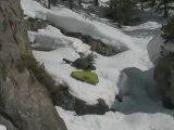Régis fait du moorey des neiges