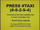 #TAXI - Call from Your Cell Phone