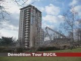 Démolition tour Bucil