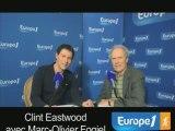 Clint Eastwood sur Europe 1