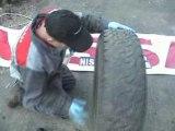Reparation pneu avec meche patrick nissan cahors video 6/7