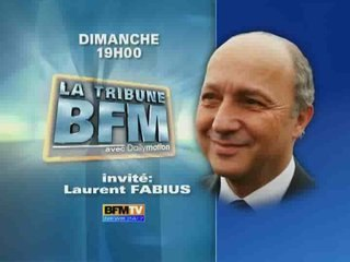 LA TRIBUNE LAURENT FABIUS