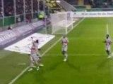 Wolfsburg - PSG pénalty Luyindula