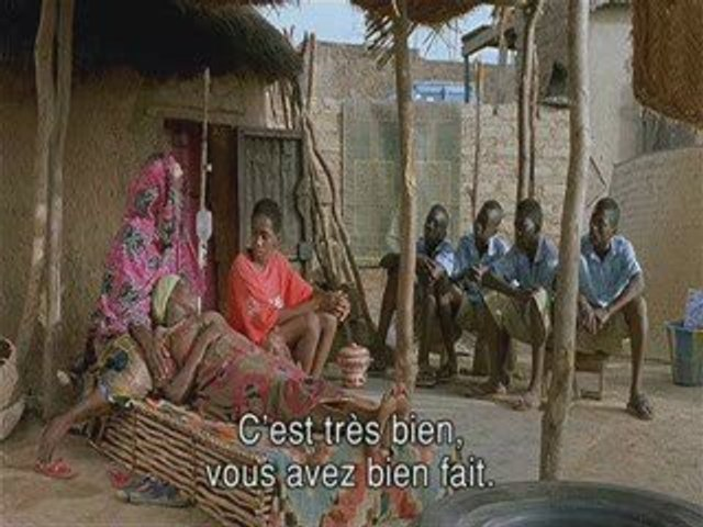 Idrissa Ouedraogo - court métrage 11'09'01