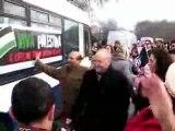 Depart convoi viva palestina pour Gaza
