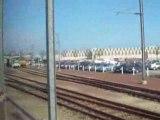 Arrivée en gare de Cherbourg