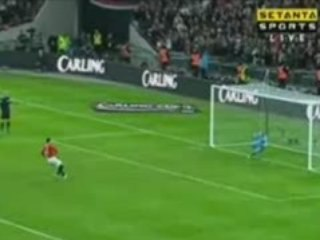 Manchester United 0 - 0 Tottenham  Penalty Shoot-Out  4-1