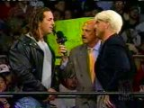 Ric Flair Tells Bret Hart how it is
