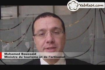 Mohamed Boussaïd: Crise et secteur touristique marocain
