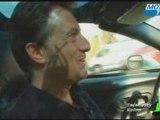 Vincent Perrot au volant de sa Corvette C5