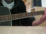 guitare greensleeves acoustique