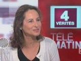 Ségolène Royal invitée des 4 vérités de France 2