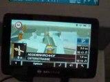 Présentation des nouveautés GPS chez Navigon au ceBIT 2009