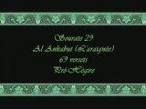 Coran sourate 029 l'araignée Al-'Ankabut soudais 1/2 vostfr