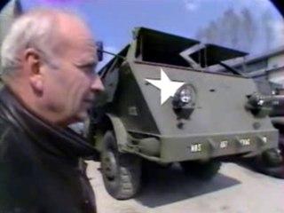 Collection de véhicules militaires de la 2e Guerre Mondiale