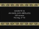 Coran sourate 016 an-nahl les abeilles soudais 1/2 vostfr