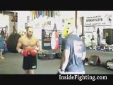 """Quinton rampage jackson vs Randy Couture """"Sparring"""""""