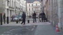 Rassemblement contre les expulsions locatives à Orléans