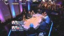 Poker EPT 3 Londres Patient Isabelle Mercier Moves All In