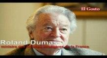 Roland Dumas Sarkozy et Moubarak complice d'Israël