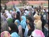 Errachidia  MAROC 2009 Manifestation de soutien à Ghaza