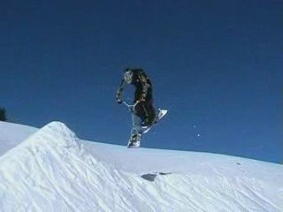 Snowscoot - 360 in progress