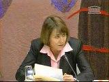 Ch. Albanel à la commission des lois (4/03/2009)
